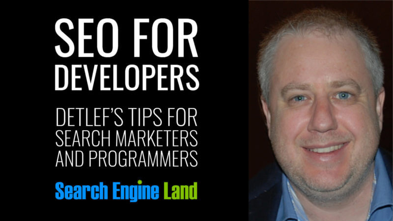 SEO for Builders. Detlef's tips for search entrepreneurs and programmers.