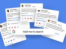 Google People Cards, Virtual Visiting Cards In India