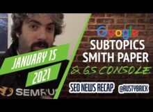 Daily Search Forum Recap: January 15, 2021