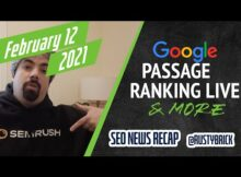 Daily Search Forum Recap: February 16, 2021