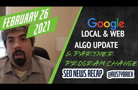 Daily Search Forum Recap: February 26, 2021