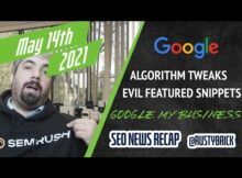 Daily Search Forum Recap: May 18, 2021