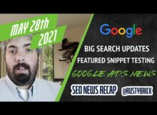Daily Search Forum Recap: May 28, 2021