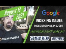 Daily Search Forum Recap: August 13, 2021